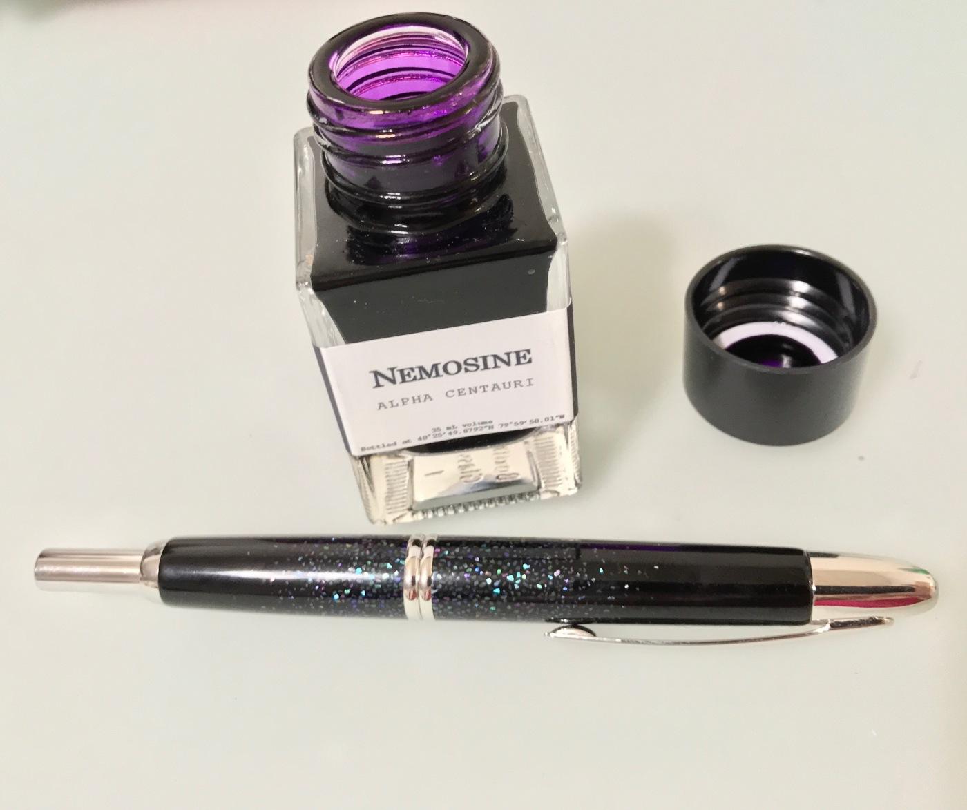 Pen Review: Nemosine Fission - The Pen Habit